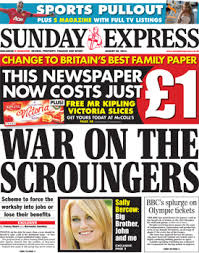 Daily Express Benefit Scroungers 2