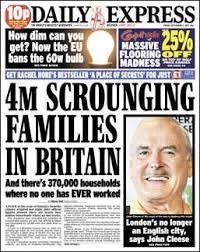 Daily Express Benefit Scroungers