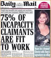 Daily Mail Benefit Scroungers